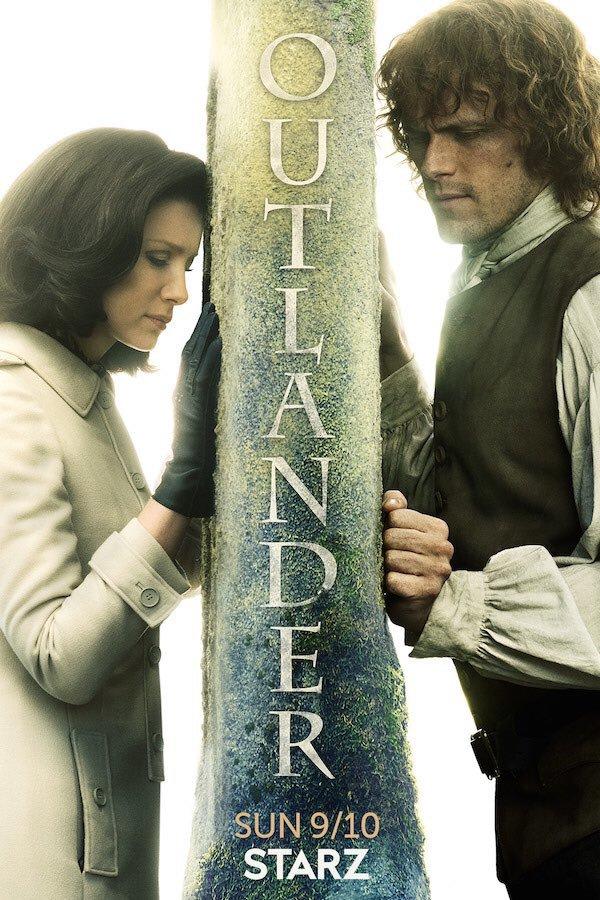 Outlander Saison 3 poster