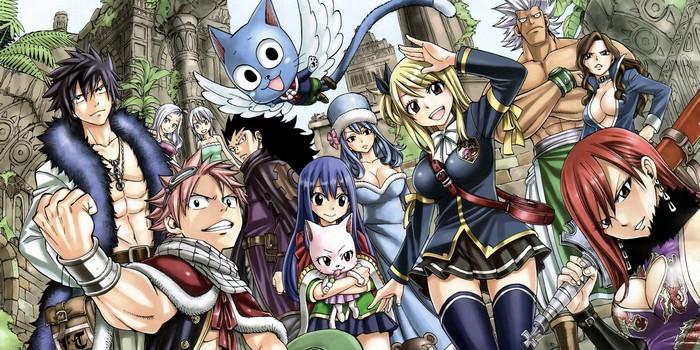 [Critique Manga] Fairy Tail : la fin d'un shonen un pour tous, tous pour un
