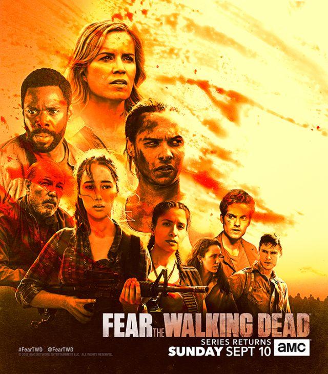 [Comic-Con 2017] The Walking Dead et Fear The Walking Dead reviennent le...
