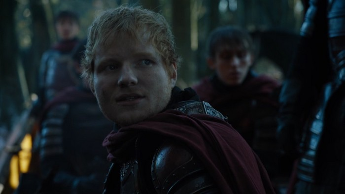 Game of Thrones saison 7 : découvrez le look d'Ed Sheeran !