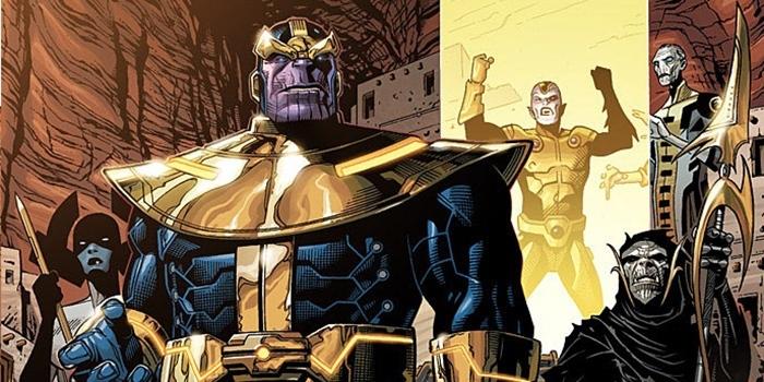 Infinity War : une affiche et l'Ordre Noir de Thanos dévoilés !