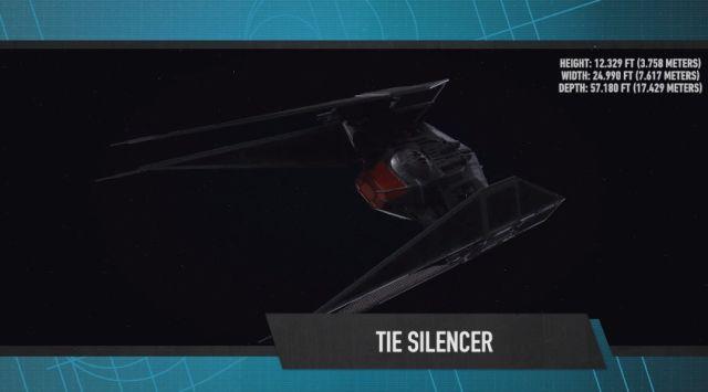 Star Wars VIII : Kylo Ren a un nouveau vaisseau, le Tie Silencer !