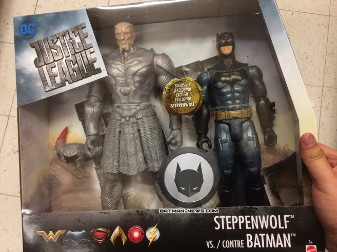 Premier aperçu du méchant Steppenwolf dans Justice League !