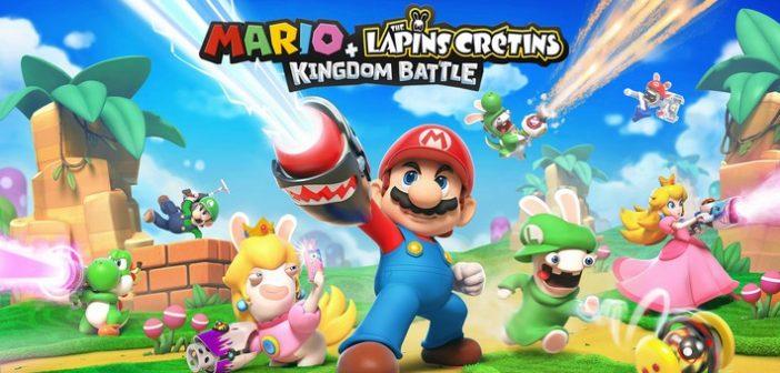 [Preview] Mario + The Lapins Crétins Kingdom Battle l'alliance qui déchire !