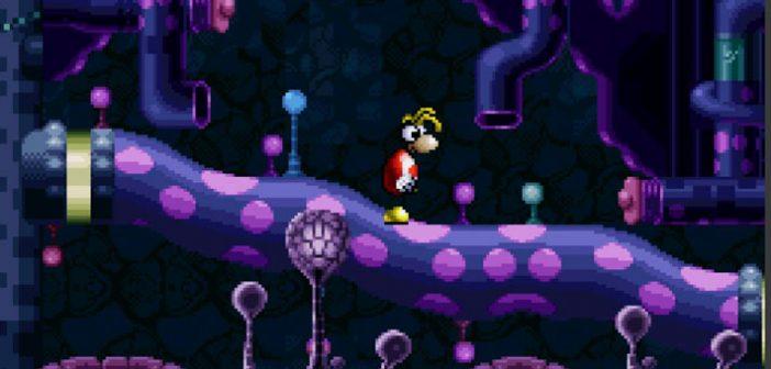 Après un succès phénoménal en 1995 sur Sega Saturn, Jaguar, Playstation, PC et GBA, le légendaire Rayman est désormais accessible dans sa version Super Nintendo.