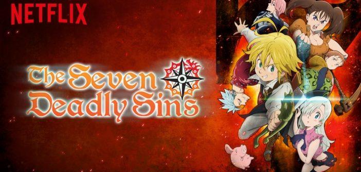 Seven Deadly Sins le manga a droit à son jeu vidéo bien bourrin !