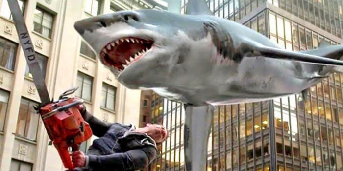 Sharknado 5 : les requins s'envolent une nouvelle fois sur un poster !