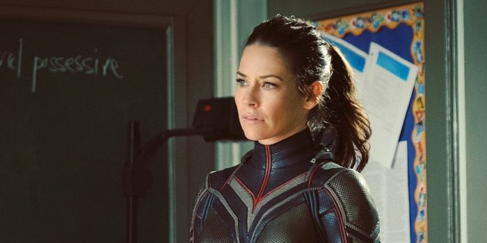 Première image d'Evangeline Lilly en Guêpe dans Ant-Man and the Wasp