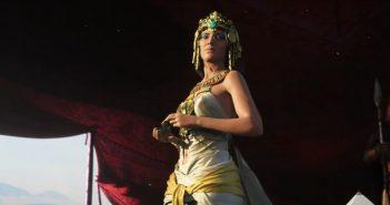 Assassin's Creed Origins met en scène César et Cléopâtre en cinématique
