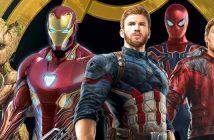 Avengers : Infinity War : une affiche promo qui réunit Captain America, Iron Man, Spider-Man et les Gardiens !