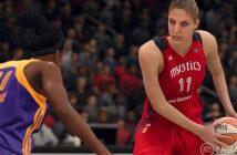 NBA Live 18 les filles mouillent le maillot
