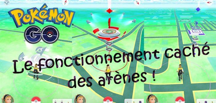 Pokémon Go le fonctionnement caché des arènes