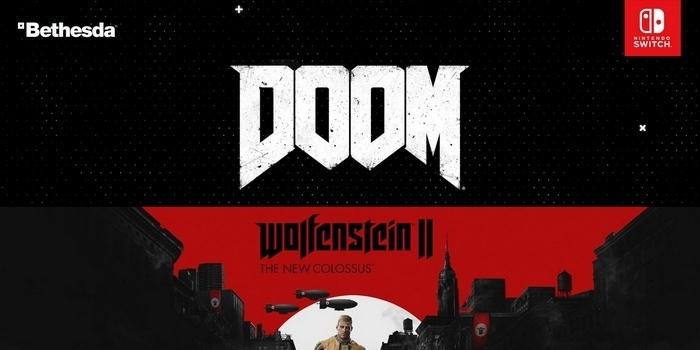 Doom et Wolfenstein II: The New Colossus arrivent sur Switch !