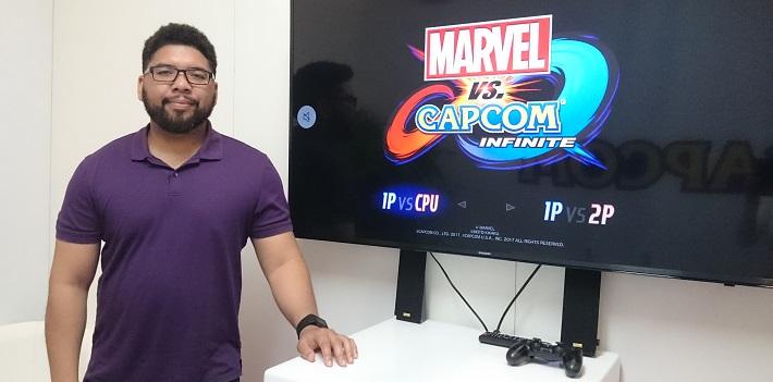 [Rencontre] Marvel vs Capcom Infinite Pete Rosas