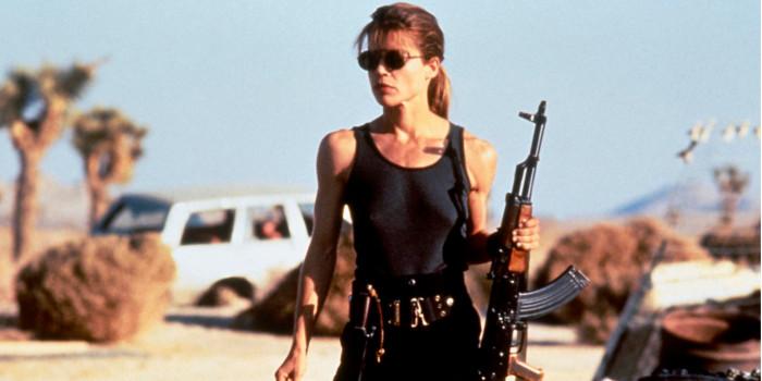 Le retour de Linda Hamilton — Terminator