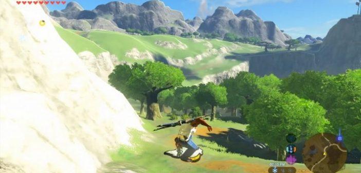 Zelda quand le héros de GTA San Andreas fait un détour par Hyrule