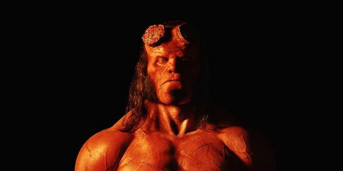 Le reboot dévoile les premières images du démon rouge — Hellboy