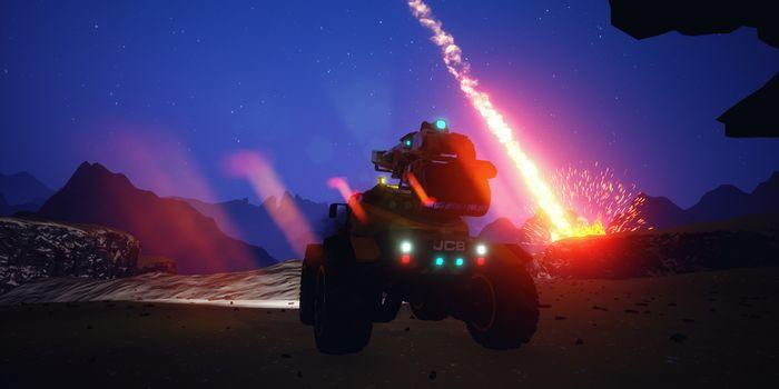 [Preview] Jcb Pioneer Mars : survivre n'est pas une partie de plaisir !