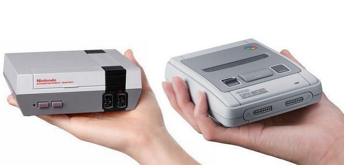 De nouvelles NES Mini et SNES Mini sortiront en 2018 !