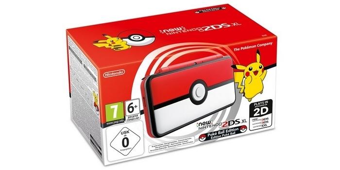 Une Nintendo New 2DS XL édition Poké-Ball bientôt disponible !