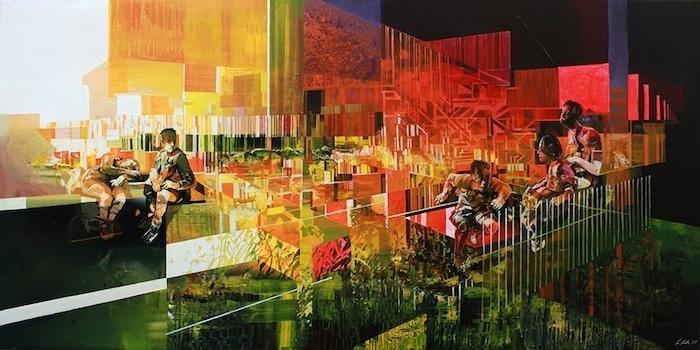 [Exposition] Scroll Era, de Robert Proch une plongée vertigineuse dans le monde moderne1