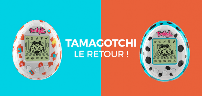 Le Tamagotchi est de retour pour ses 20 ans !