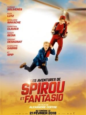 Les Aventures de Spirou et Fantasio : poster et bande-annonce !