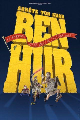 [Spectacle] Arrête ton char Ben-Hur la parodie théâtrale avec Emmanuel Macron dedans 1