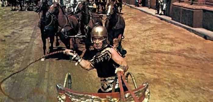 [Spectacle] Arrête ton char Ben-Hur : la parodie théâtrale avec Emmanuel Macron dedans