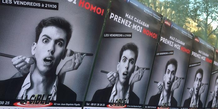 [Spectacle] Prenez-moi homo ! Le one-man show gay qui évite enfin les clichés