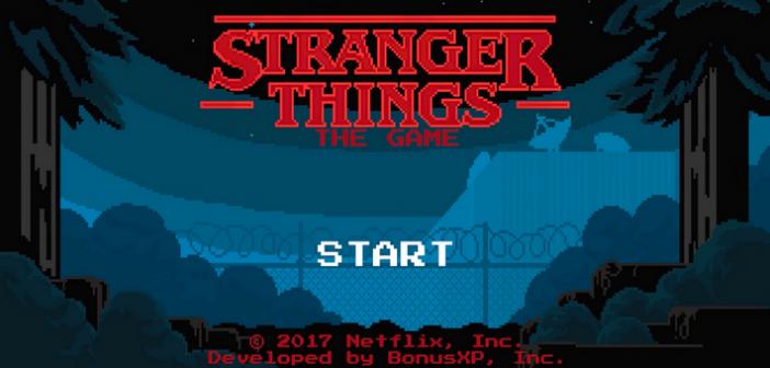 Stranger Things, découvrez le jeu mobile gratuit !