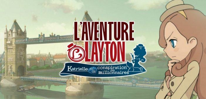[Test] L'Aventure Layton, les célèbres énigmes font leur grand retour !