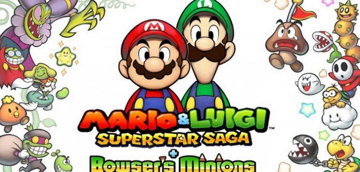 [Test] Mario & Luigi Superstar Saga, un remake cinq étoiles !