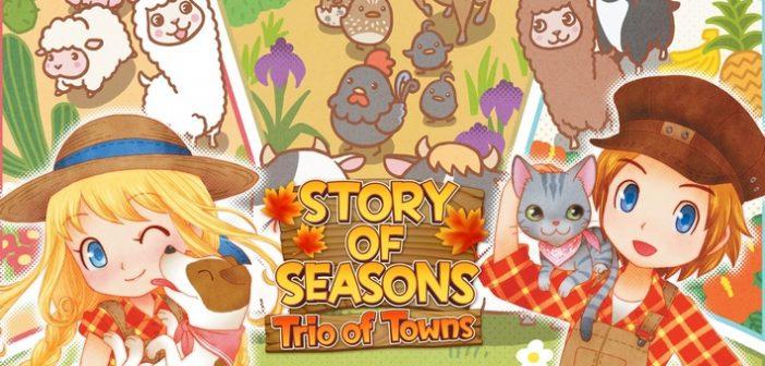 [Test] Story of Seasons Trio of Towns, c'est l'amour vache !