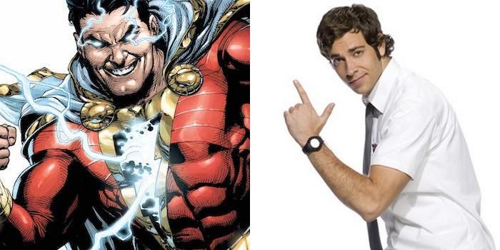 Shazam a enfin son héros en la personne de Zachary Levi
