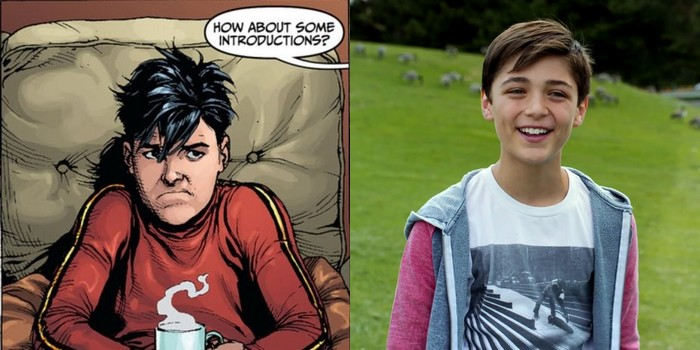 Shazam : Asher Angel dans le rôle de Billy Batson