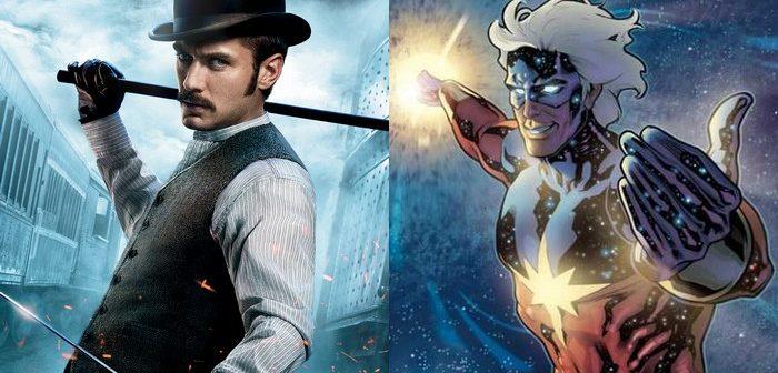 Captain Marvel : Jude Law en mentor de Brie Larson !