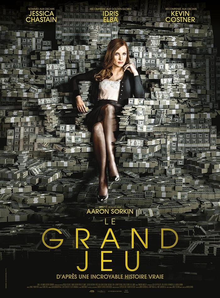 Le Grand Jeu : un trailer pour le film de Aaron Sorkin !