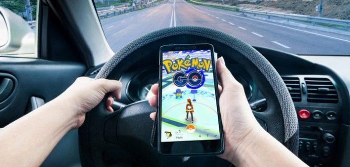 Pokémon GO, découvrez le nombre d'accidents de voiture causés
