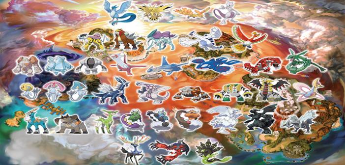 Pokémon Ultra-Soleil Lune, découvrez les légendaires exclusifs !