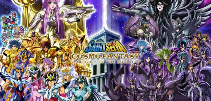 Saint Seiya Cosmo Fantasy débarque enfin sur nos smartphones !