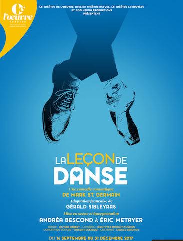 [Spectacle] La leçon de danse - une leçon d'humanité en deux temps trois mouvements