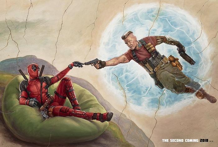 Deadpool 2 : un nouvel art-work avec Cable !