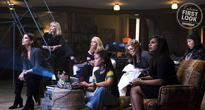 Ocean's 8 : les filles se réunissent sur une première image !