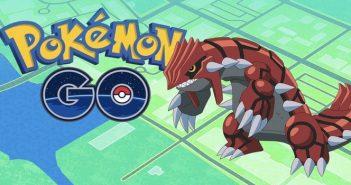 Pokémon Go comment trouver et capturer Groudon