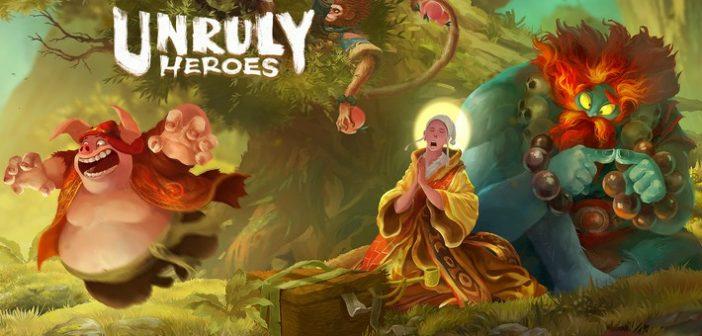 [Preview] Unruly Heroes : la force des légendes chinoises