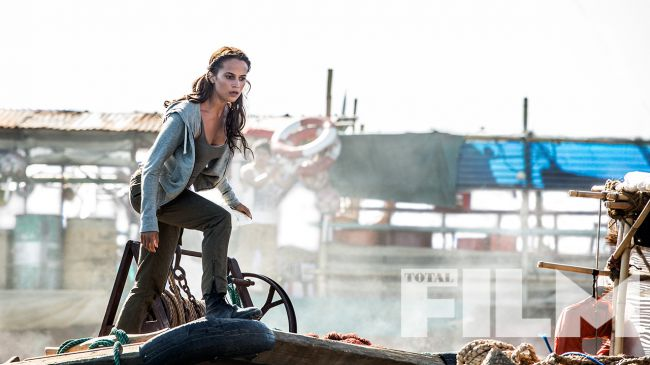 Tomb Raider : de nouvelles photos de Alicia Vikander !
