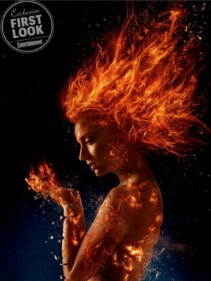 X-Men Dark Phoenix : Sophie Turner met le feu sur les premières images