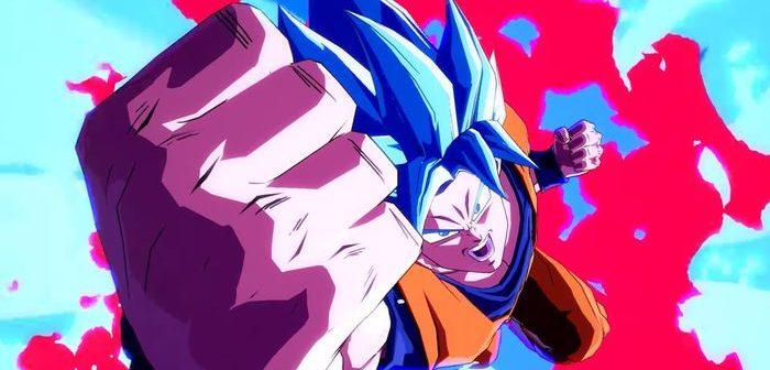 Dragon Ball FighterZ : Gokû Super Saiyan Blue montre sa puissance !