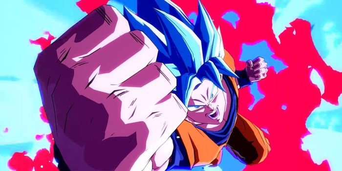 Dragon Ball FighterZ : Gokû Super Saiyan Blue montre sa puissance !